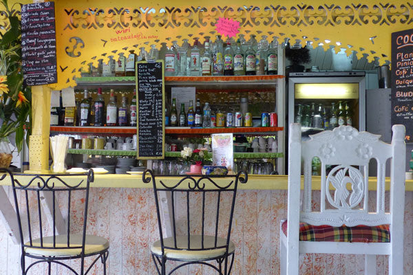 Banana Cafe in Marigot