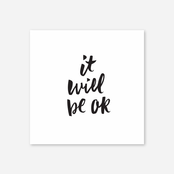 It will be ok, print, 2 colors