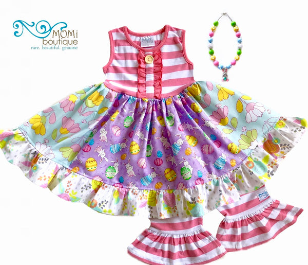 sz 2/3 Bunny Trail ruffle dress