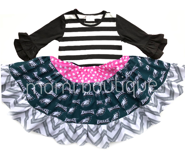 Philadelphia Eagles Twirl dress