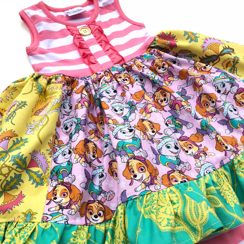 Paw Patrol ruffle dress