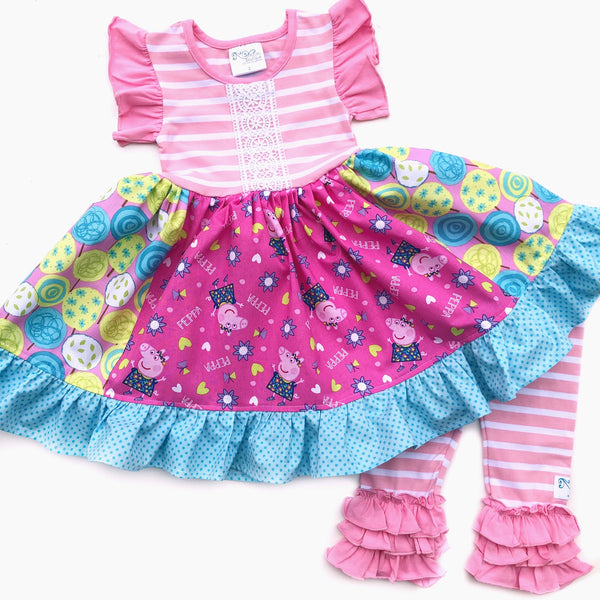 Peppa Pig Party dress
