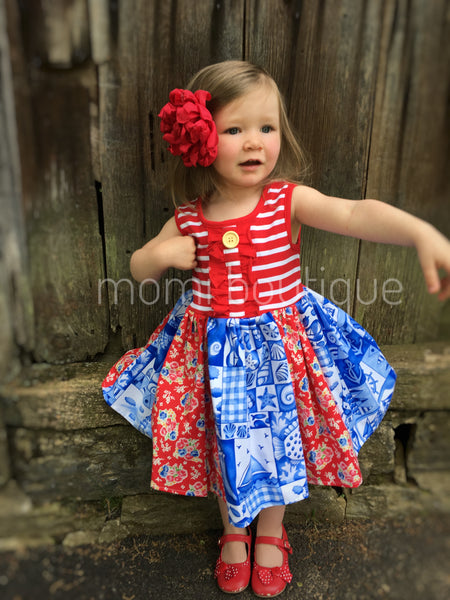 Nautical in Nantucket dress