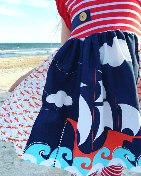Sail the Seven Seas dress