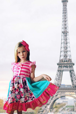 Springtime in Paris dress