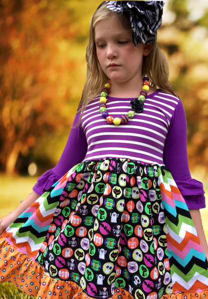 Halloween Boo dress