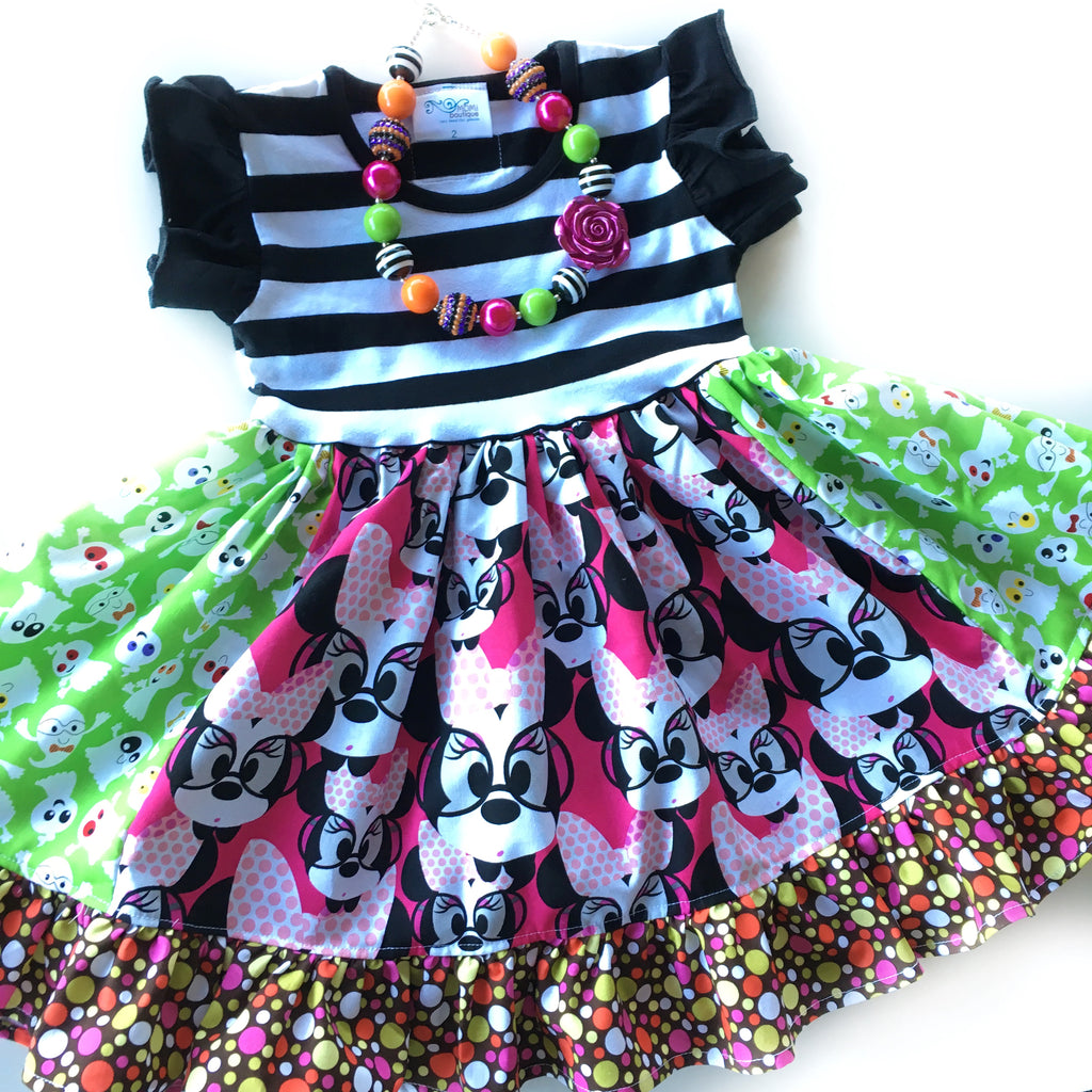 Halloween Minnie dress