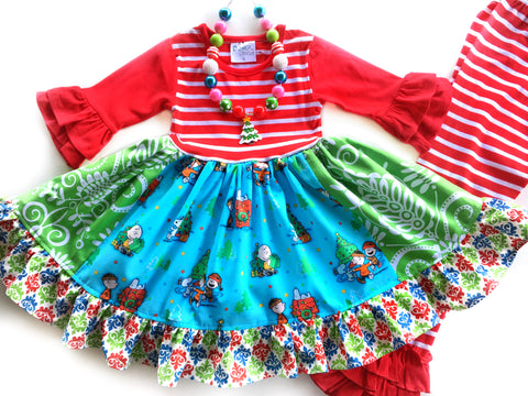 Charlie Brown Christmas dress