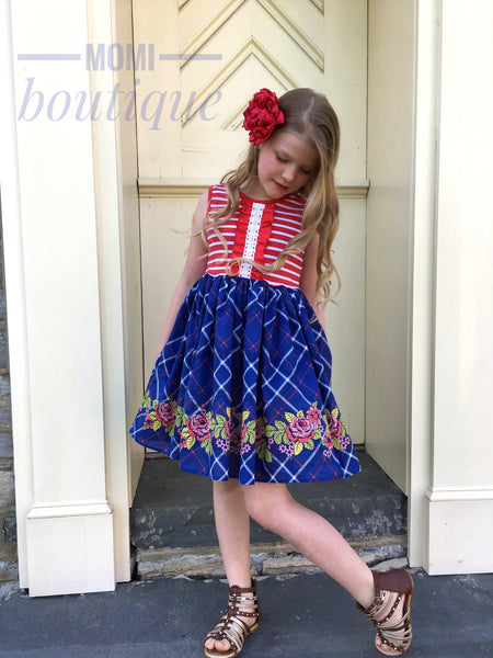 Patriotic prep dress