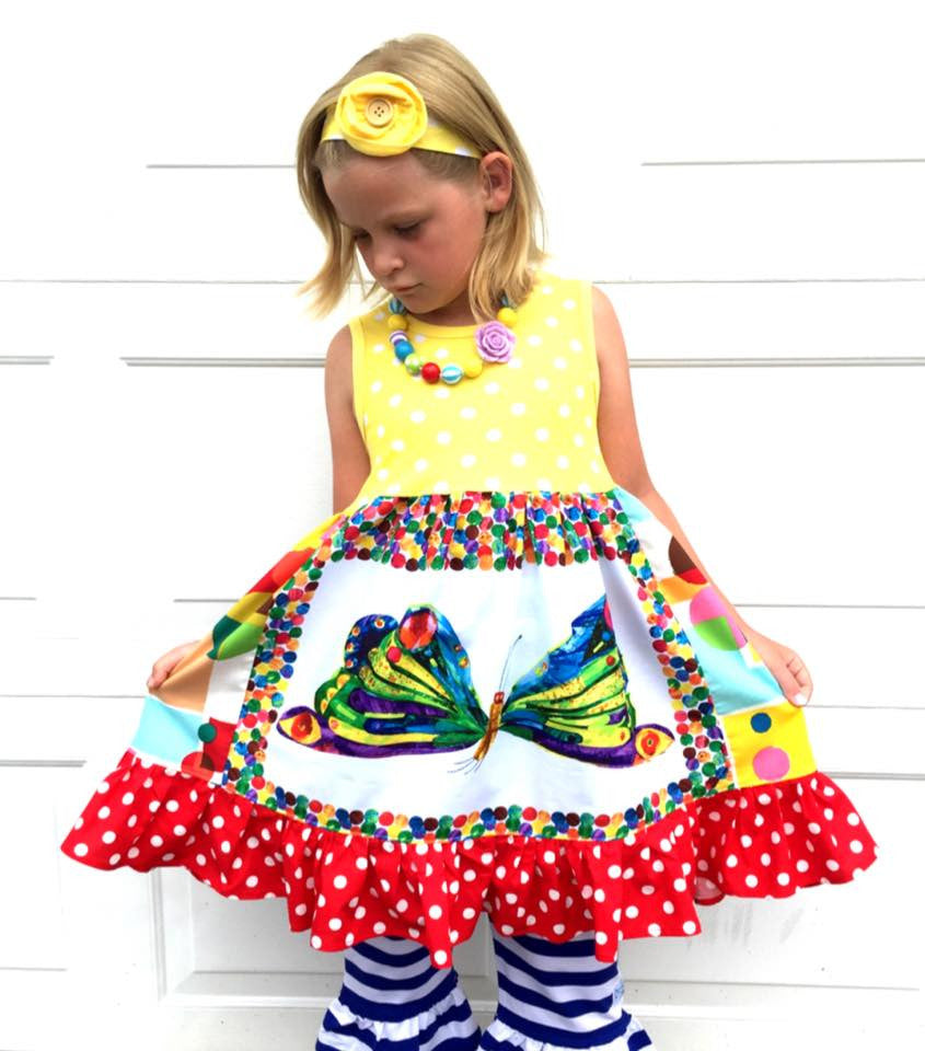 Back to School Butterfly Dress