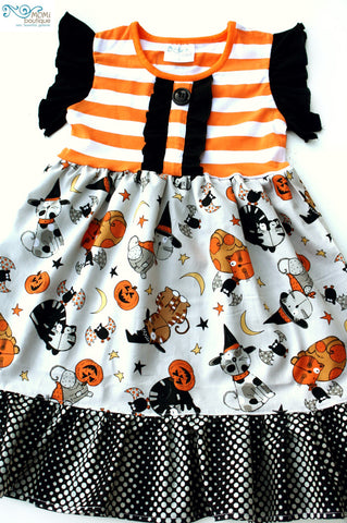 Halloween Cat Dance dress