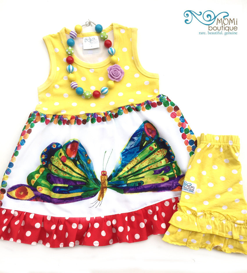 Back to School Butterfly top