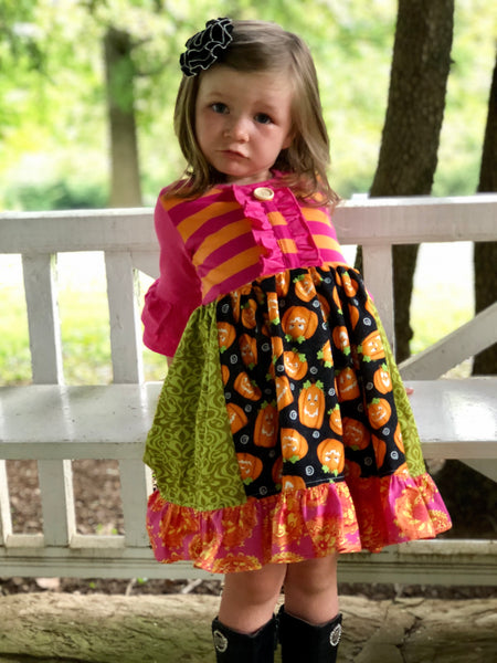 Pumpkin Patch dress