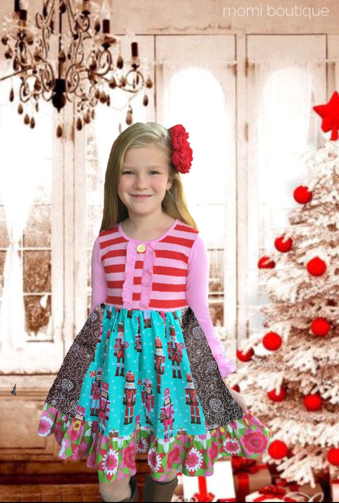 Nutcracker Ballet Damask dress