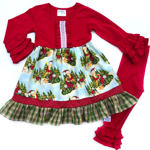 Kris Kringle dress