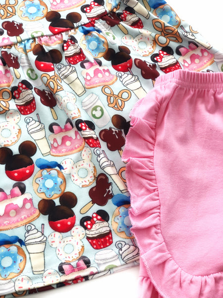 Magical treats tunic & shorts