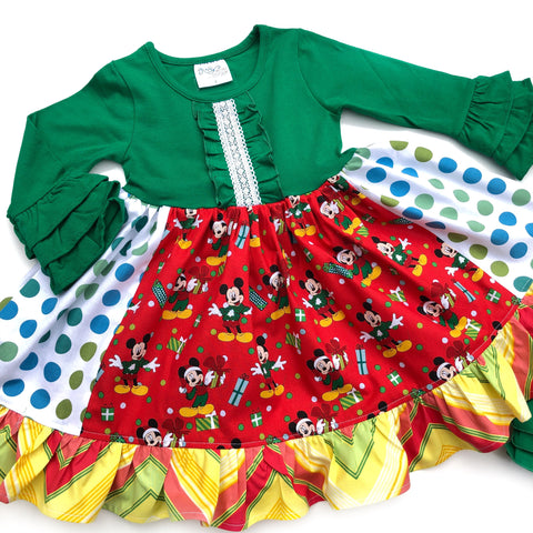 Disney Christmas Celebration dress