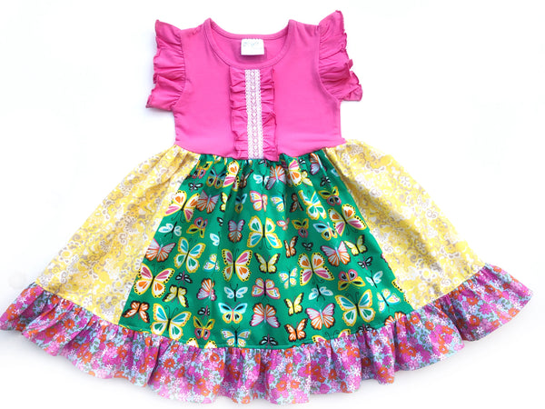 Happy go Lucky Butterfly dress