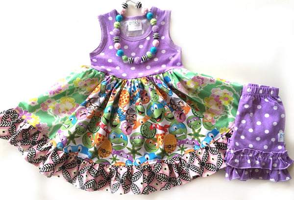 Turtle Power dress