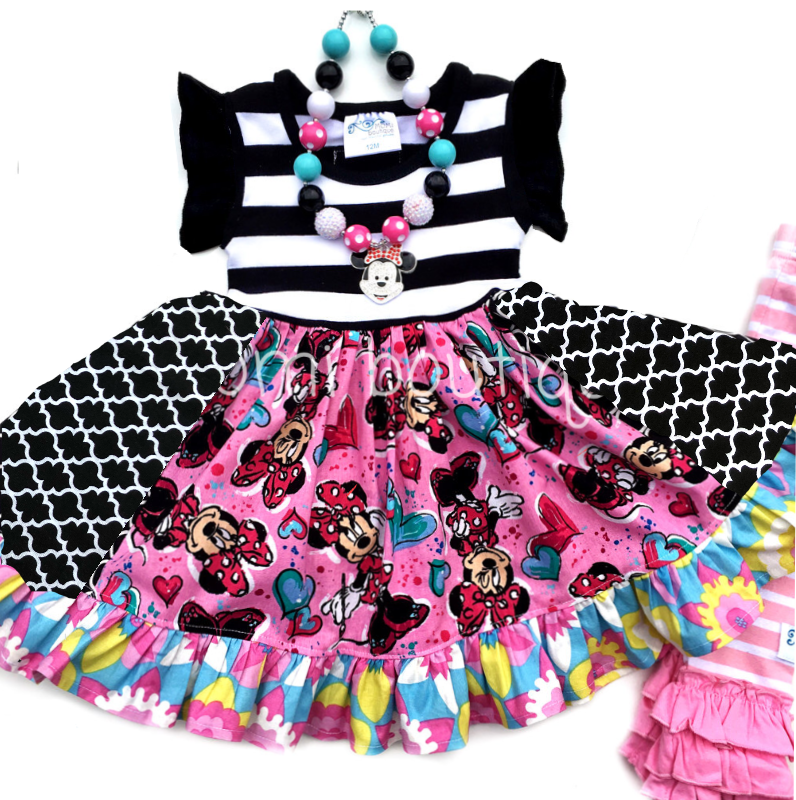 Minnie Bowtique flutter dress