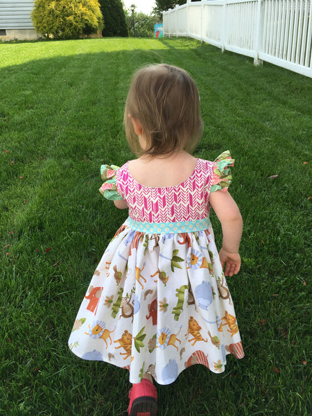 Penelope's Jungle dress