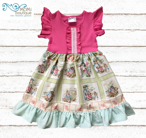 Peter Rabbit Beatrix Potter dress