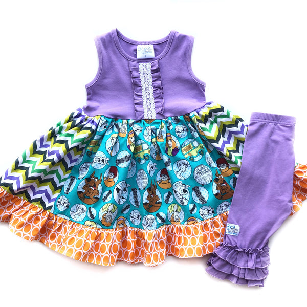 Scooby Doo & Friends dress