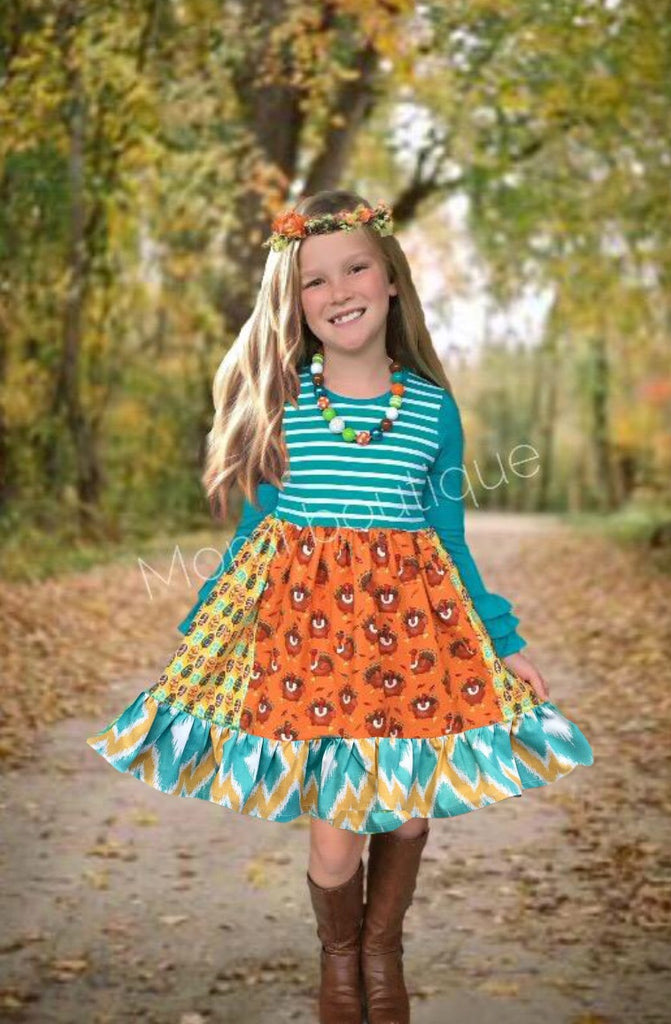 Macy's Turkey Parade dress