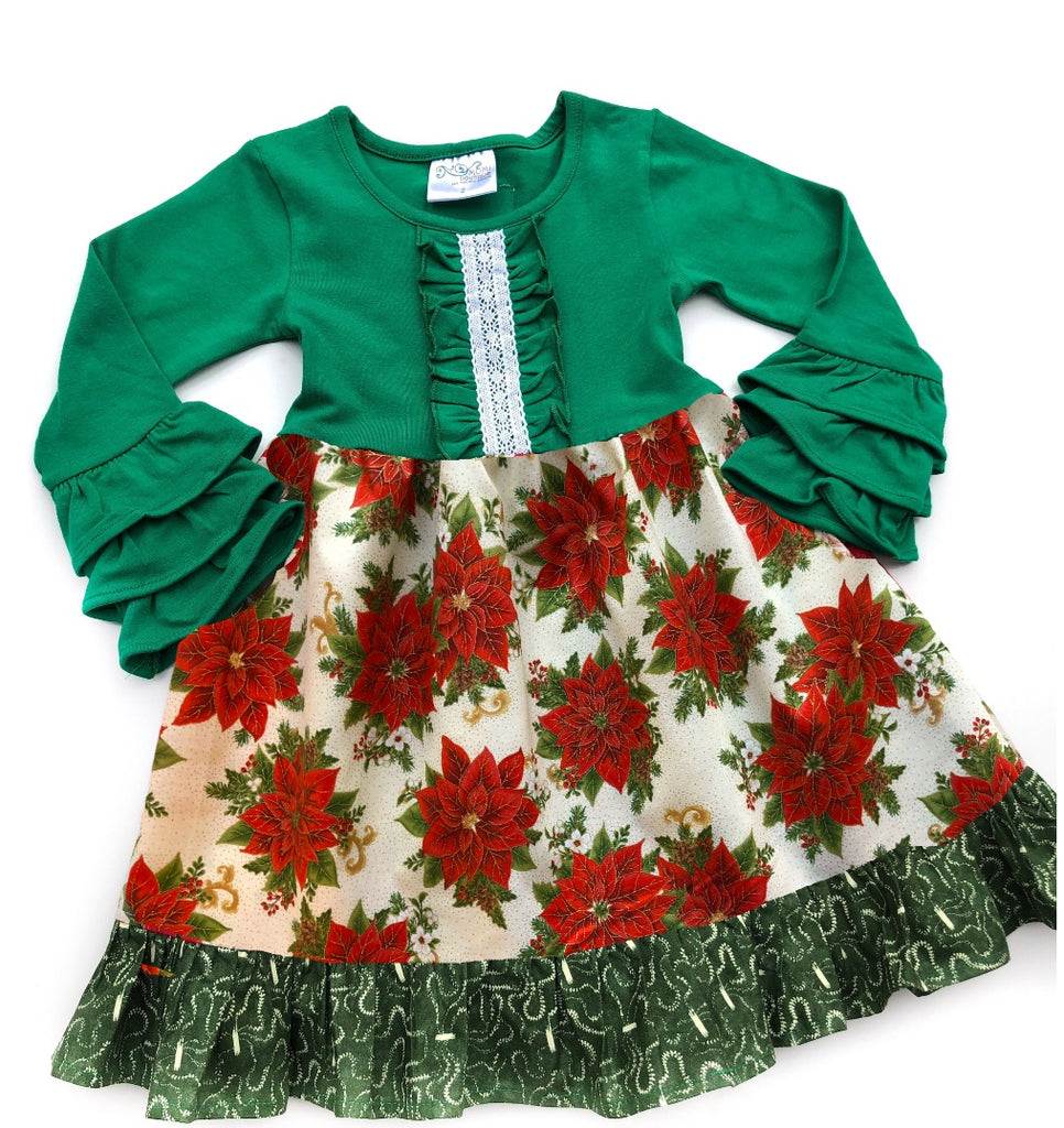 Doorbuster Poinsettia dress