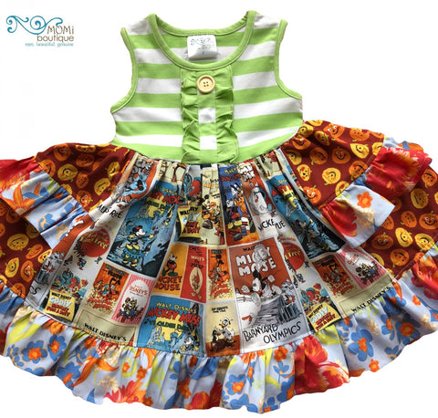 Disney Fall Splendor dress