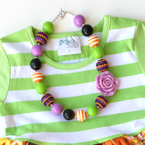 M2M Halloween necklace