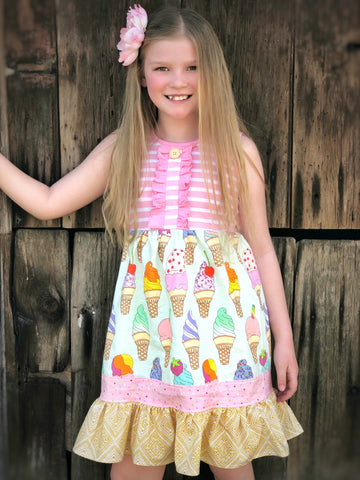 Ice Cream Gwen style dress