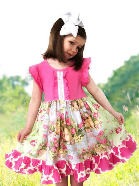 Tulip fields dress