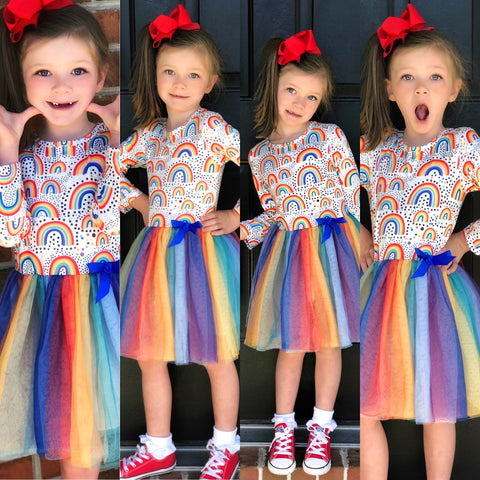 Rainbow Dreamer dress