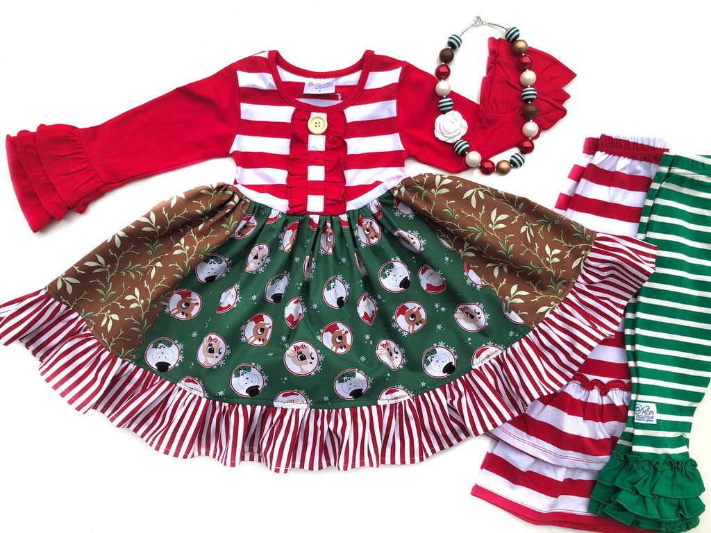 Rudolph and Clarice dress