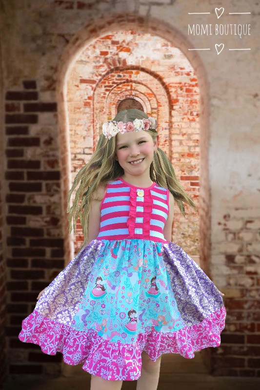 The Royal unicorn party dress