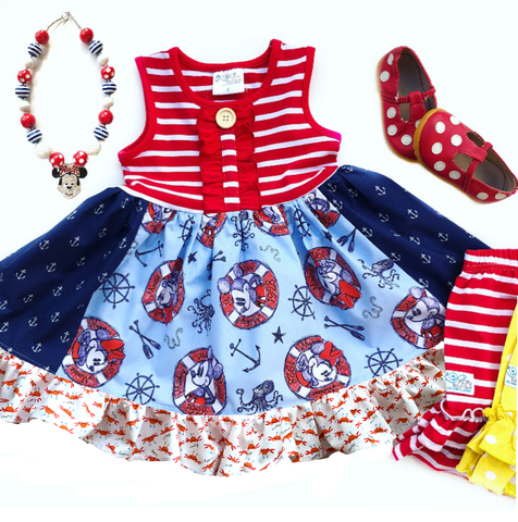Disney cruise dress