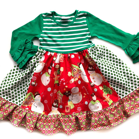 Gingerbread Man dress