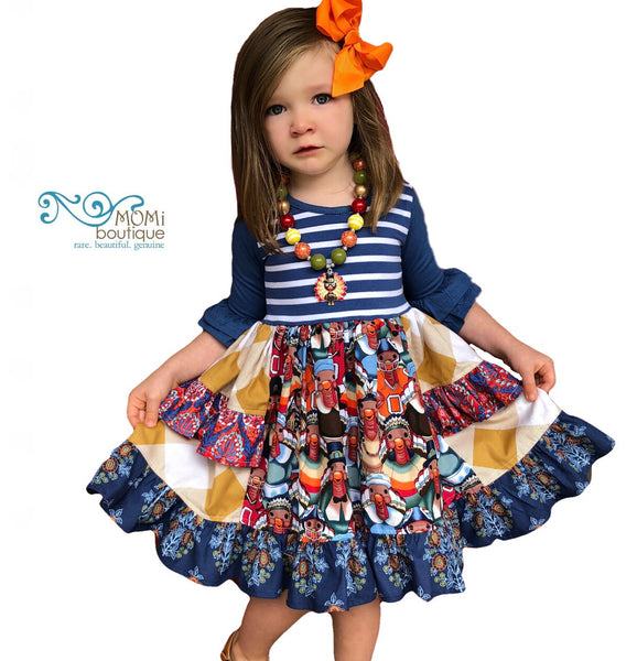 Girls thanksgiving dress