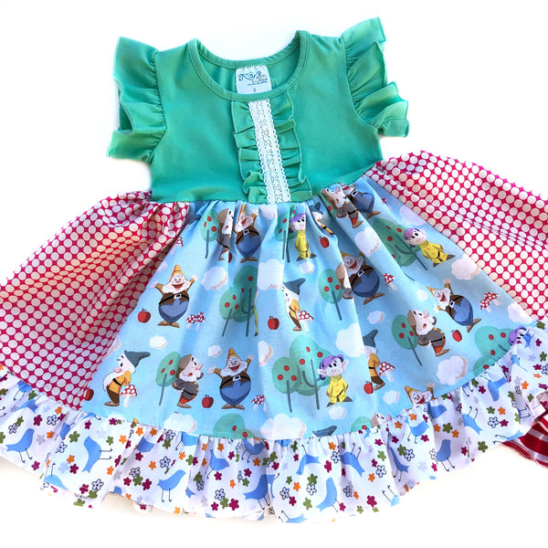 Whistle while you work Storybook dress