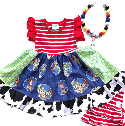 Toy Story to Infinity & Beyond dress