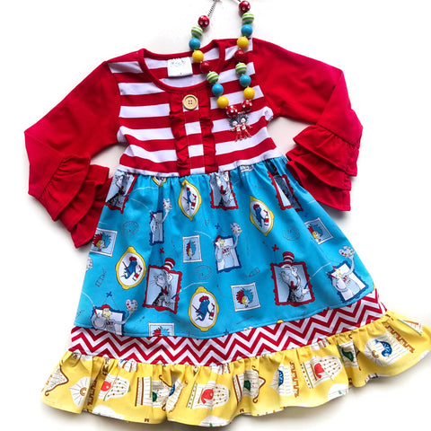 Read Across America dress