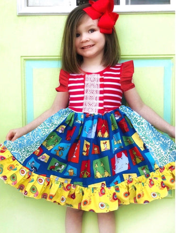 Seuss Celebration dress