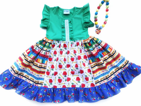 Elementary Apple dress