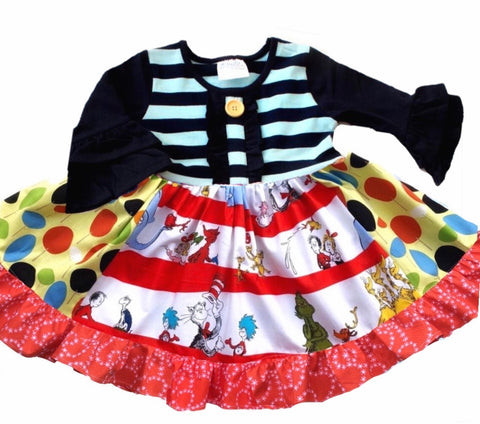 Seussical Adventure dress