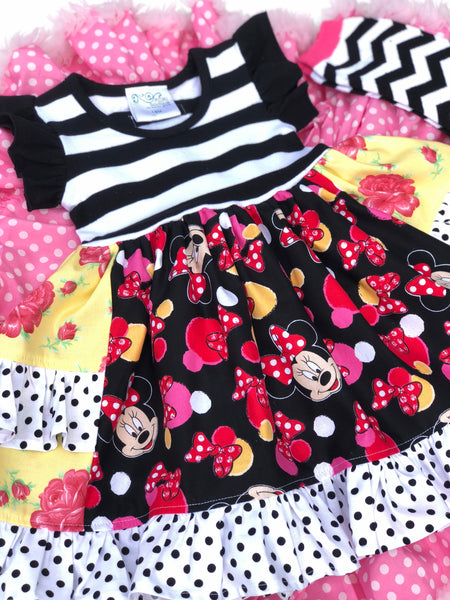 Minnie Mouse Platinum Party style dress