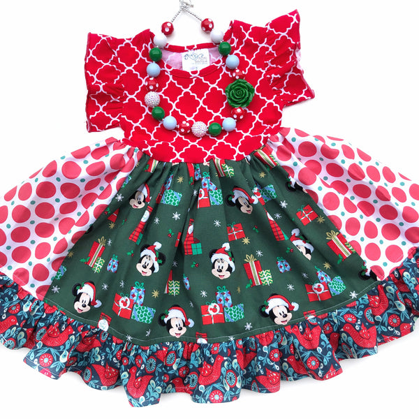 Disney Christmas Wonderland dress
