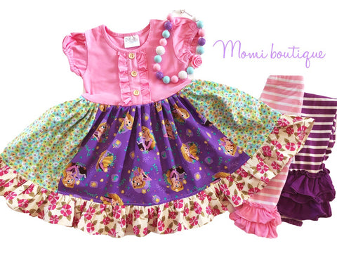 Rapunzel Springtime Disney dress