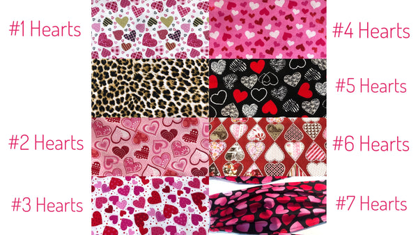 Hearts & Valentine Prints