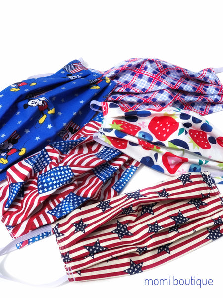 Patriotic masks